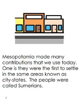 Mesopotamia Adapted Story