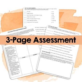 Mesopotamia: Assessment