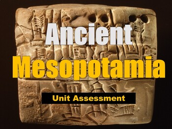 Mesopotamia Test