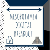 Distance Learning: Mesopotamia Digital Breakout / Escape Room