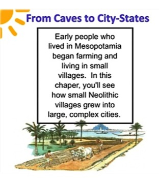 Mesopotamia Caves to City-States