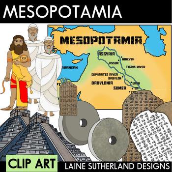 Mesopotamia Clip Art Set