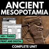Ancient Mesopotamia Complete Unit - Notes, Questions, Graphic Organizers