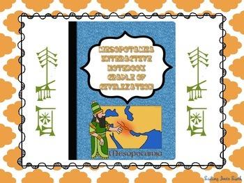 Mesopotamia Cradle of Civilization Puzzle - Interactive Notebook Activity