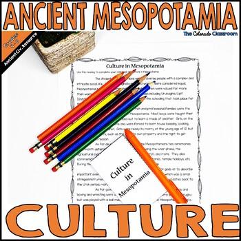 Mesopotamia: Culture