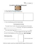 Mesopotamia - Cuneiform Webquest