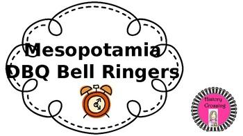 Mesopotamia DBQ Bell Ringers