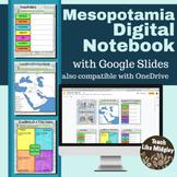 Mesopotamia Digital Interactive Notebook Activities