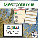 Mesopotamia Digital Interactive Notebook for Google Drive