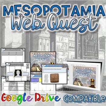 Mesopotamia WebQuest {Digital AND Paper}