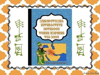 Mesopotamia Empires - Interactive Notebook Activity