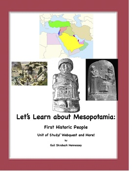 Mesopotamia-First Historic People(Unit with notes,activites and resources)