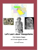 Mesopotamia-First Historic People(Unit with notes,activite