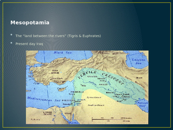 Mesopotamia Geography Vocabulary