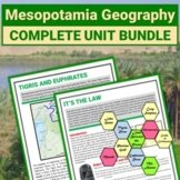 Ancient Mesopotamia Geography and Agriculture Bundle