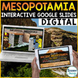 Mesopotamia Google Classroom Distance Learning | Interacti