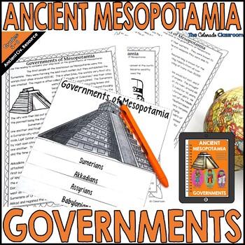 Mesopotamia: Governments