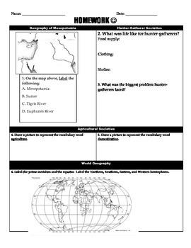 Mesopotamia Homework (1)
