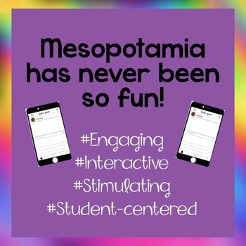 Mesopotamia Activity-Instagram (Editable Insta-game)