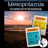 Ancient Mesopotamia Interactive Notebook Graphic Organizers