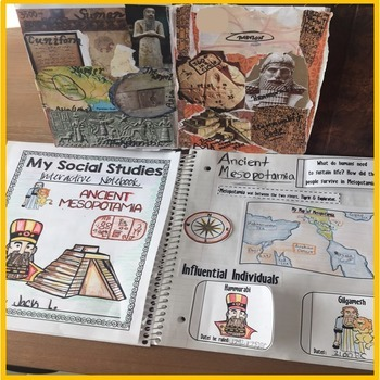 Ancient Mesopotamia Interactive Notebook | Distance Learning