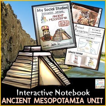 Ancient Mesopotamia Interactive Notebook - Ancient History