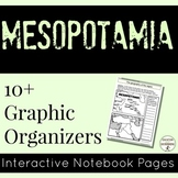 Mesopotamia Interactive Notebook Graphic Organizers for Ancient Mesopotamia