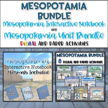 Mesopotamia Interactive Notebook and Resource Bundle