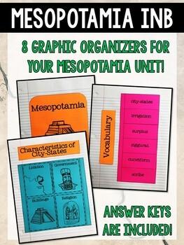 Mesopotamia Activities Bundle