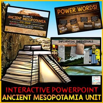 Ancient Mesopotamia PowerPoint Interactive