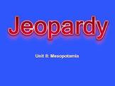 Mesopotamia Jeopardy style review game