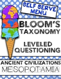 Design Your Own Ice Cream- Leveled Questioning