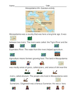 Mesopotamia: Vocabulary Story