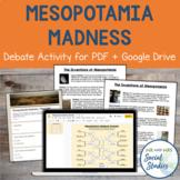 Mesopotamia Madness: Ancient Mesopotamia Invention Activity