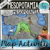 Mesopotamia Map Activity (Print and Digital)