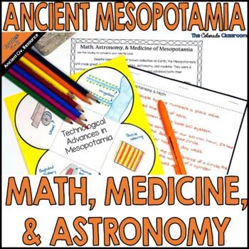 Mesopotamia: Math, Astronomy, & Medicine