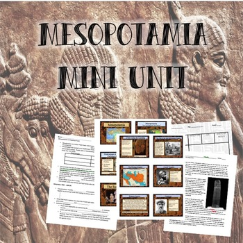 Mesopotamia Mini-Unit