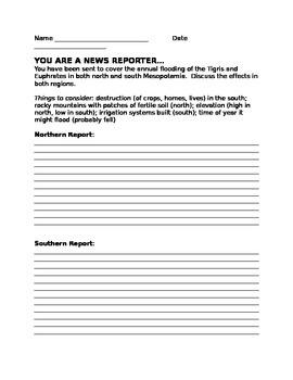 Mesopotamia News Report