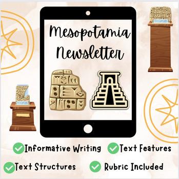 Mesopotamia Newsletter