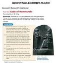 Mesopotamia Primary & Secondary Source Analysis