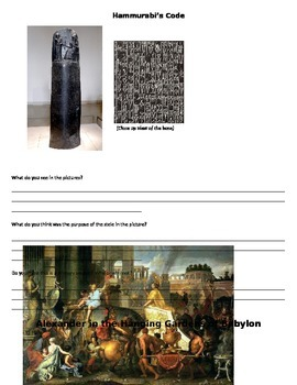 Mesopotamia Primary and Secondary Source Study