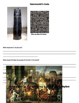 Mesopotamia Primary and Secondary Source Study