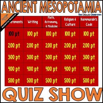 Mesopotamia: Quiz Show