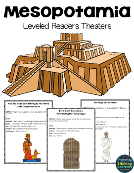 Mesopotamia Readers Theater Plays {Leveled Parts}