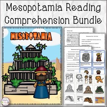 Mesopotamia Reading Comprehension Bundle