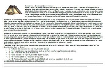 Mesopotamia Reading and Create a Facebook for Hammurabi SS.6.W.2.8 & SS.6.W.2.7