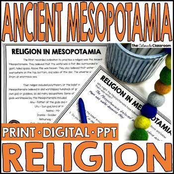 Mesopotamia: Religion