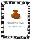 Mesopotamia Review Find Someone Who