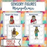 Mesopotamia Sensory Figures FREE