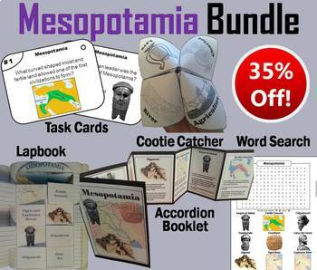 Mesopotamia Task Cards and Activities Bundle